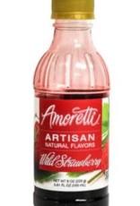 AMORETTI WILD STRAWBERRY ARTISAN FRUIT PUREE 8 OZ