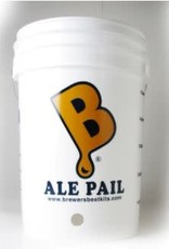 ALE PAIL'' 6.5 GALLON BOTTLING BUCKET WITH 1'' HOLE