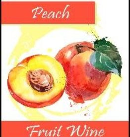 PEACH FRUIT WINE LABELS 30/PACK