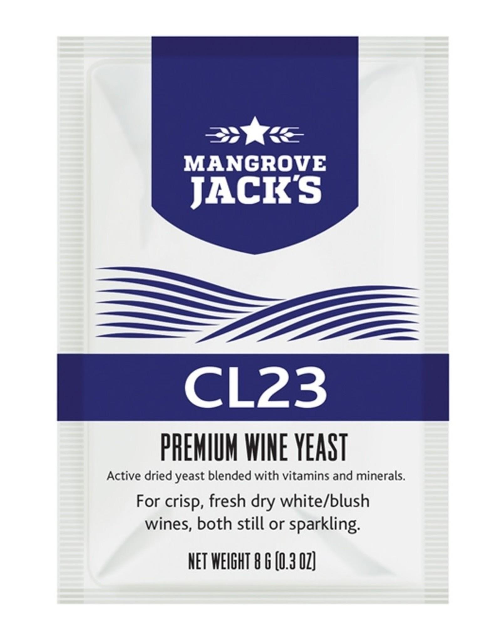 MANGROVE CL23 MANGROVE JACK YEAST WINE 8g