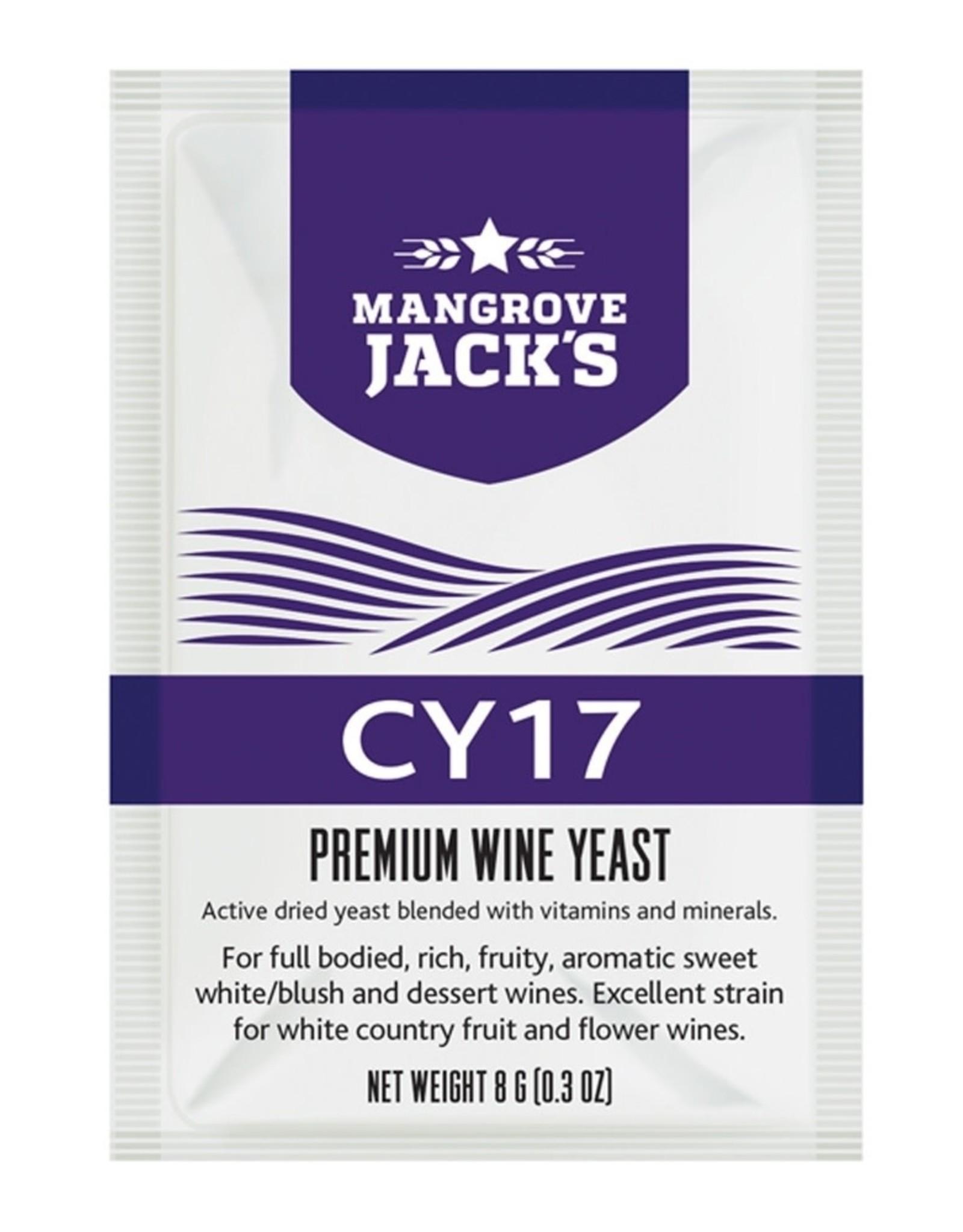 CY17- MANGROVE JACK YEAST