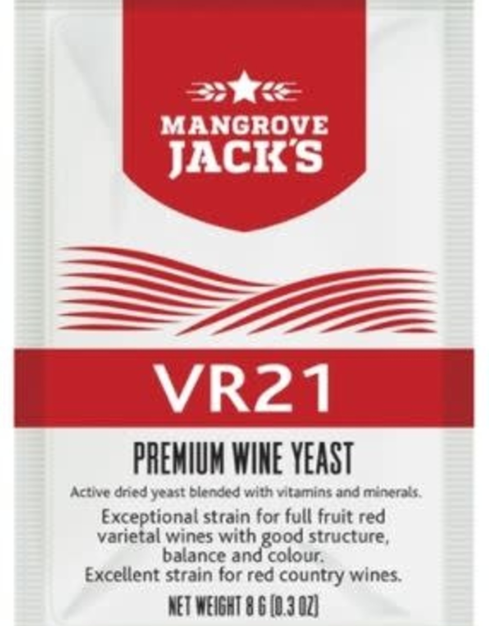 VR21 - MANGROVE JACK  YEAST