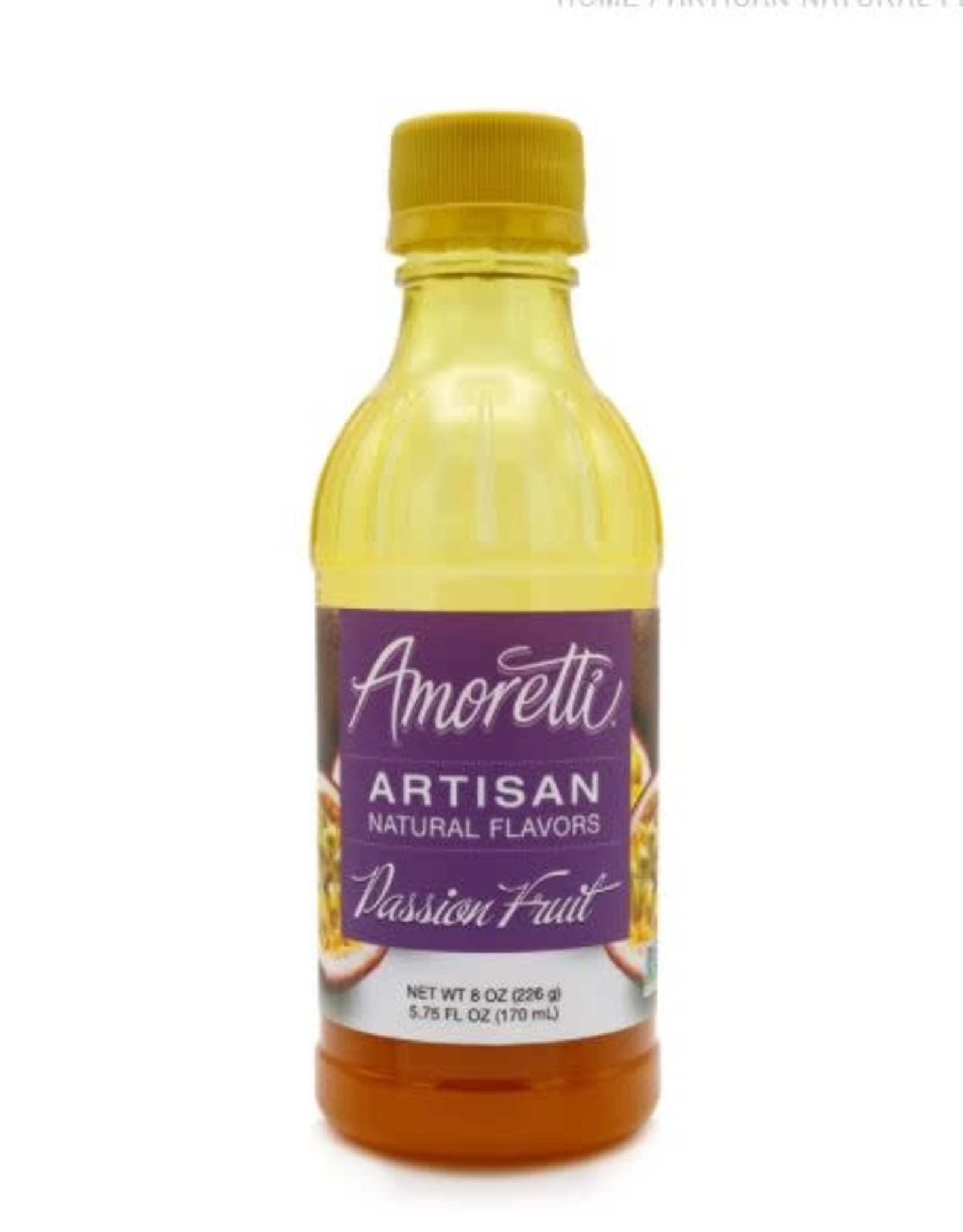 AMORETTI PASSION FRUIT ARTISAN FRUIT PUREE 8 OZ