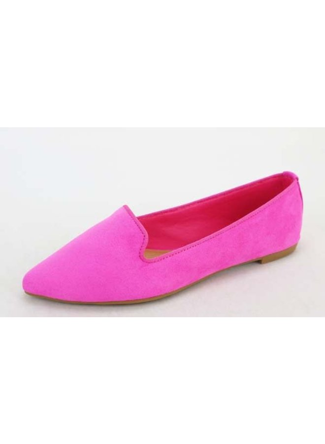 AUGUST POINTY TOE FLAT