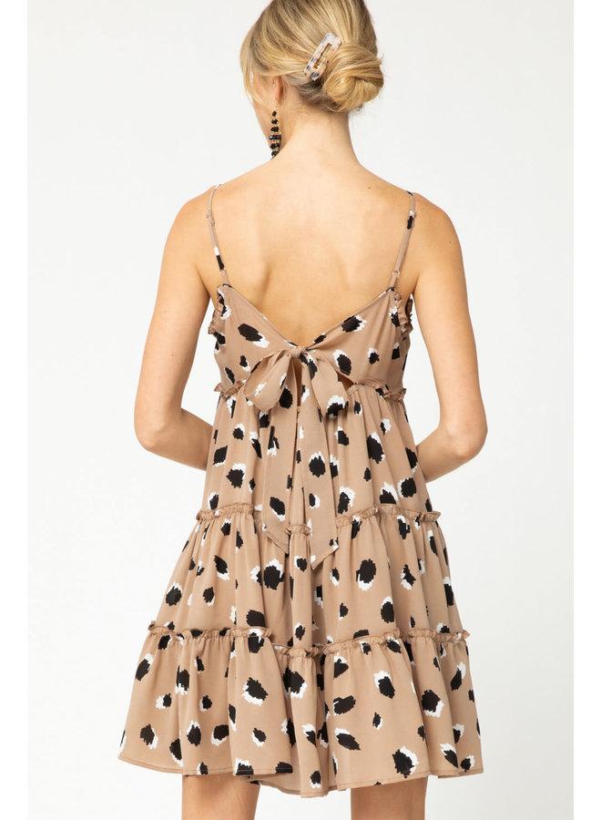 ASHER LEOPARD DRESS