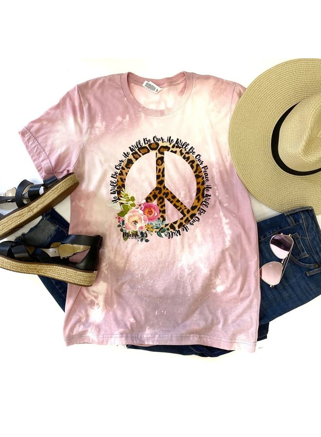VALERY HE WILL BE OUR PEACE SIGN TEE