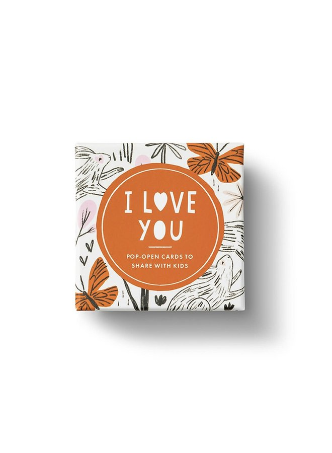 I LOVE YOU KIDS THOUGHTFULLS CARDS