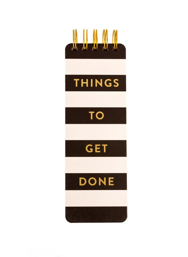 THINGS TO GET DONE SPIRAL MEMO PAD