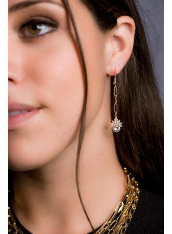 ALVA 14K GOLD FILLED DROP EARRINGS