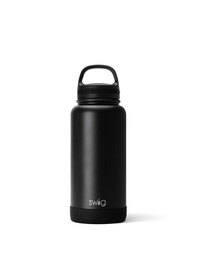 SWIG 30 OZ WATER BOTTLE MATTE BLACK