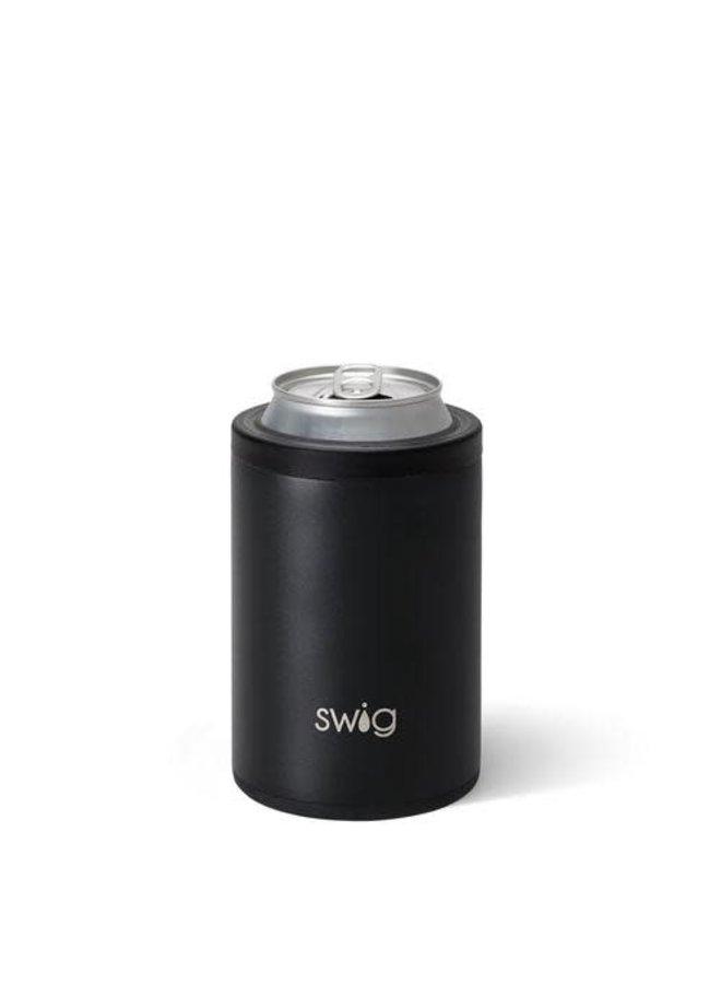 SWIG 12 OZ COMBO COOLER MATTE BLACK