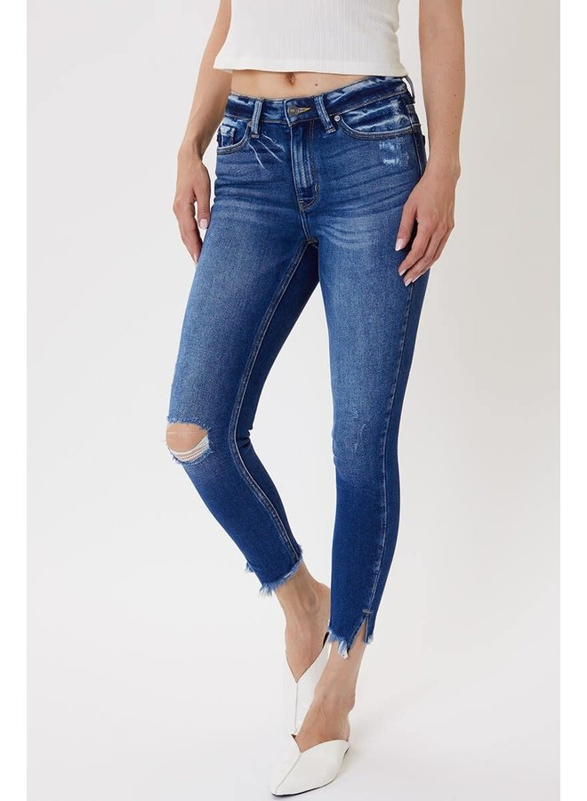 JANICE HIGH RISE ANKLE SKINNY JEANS