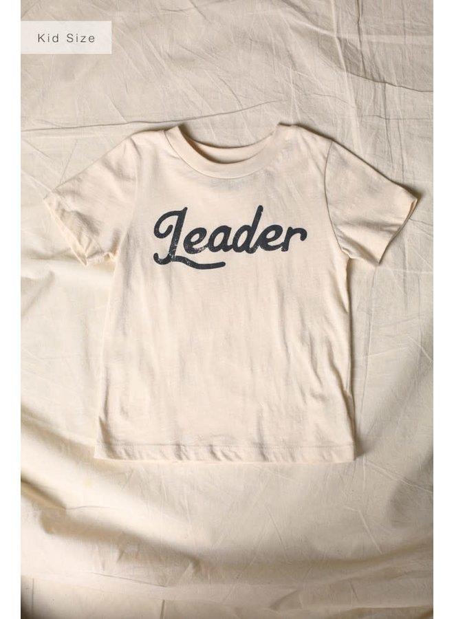 LEADER CHILDREN'S TEE