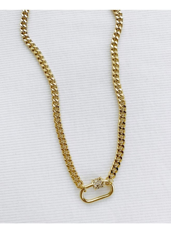 SMALL CLASP NECKLACE