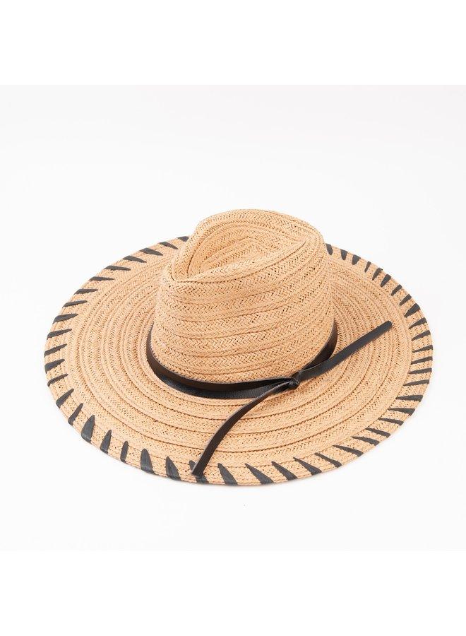 THE KEYS SUN FEDORA HAT
