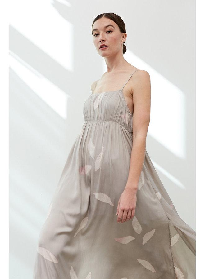 JILL LOOSE WAIST MAXI DRESS