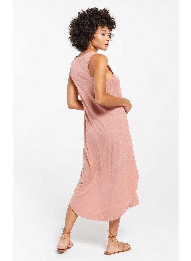 JANE REVERIE DRESS ROSE