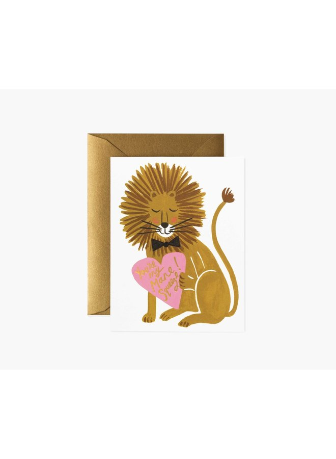 YOU'RE MY MANE SQUEEZE CARD