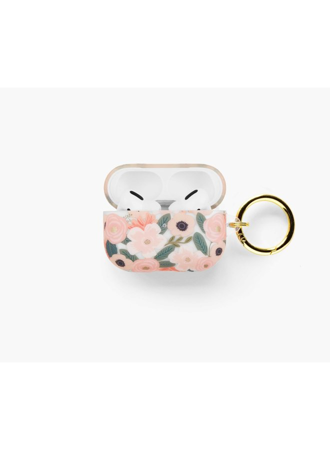 CLEAR WILDFLOWERS AIRPOD PRO CASE