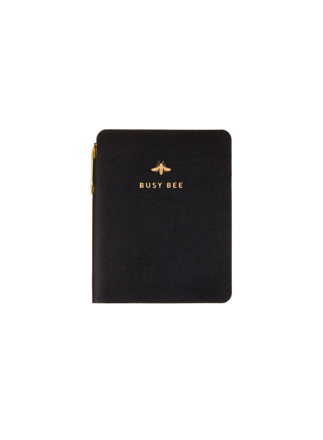 POCKET JOURNAL WITH PEN BUSY BEE