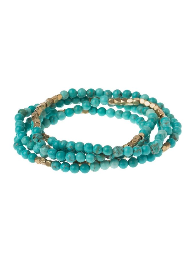 STONE OF THE SKY TURQUOISE/GOLD