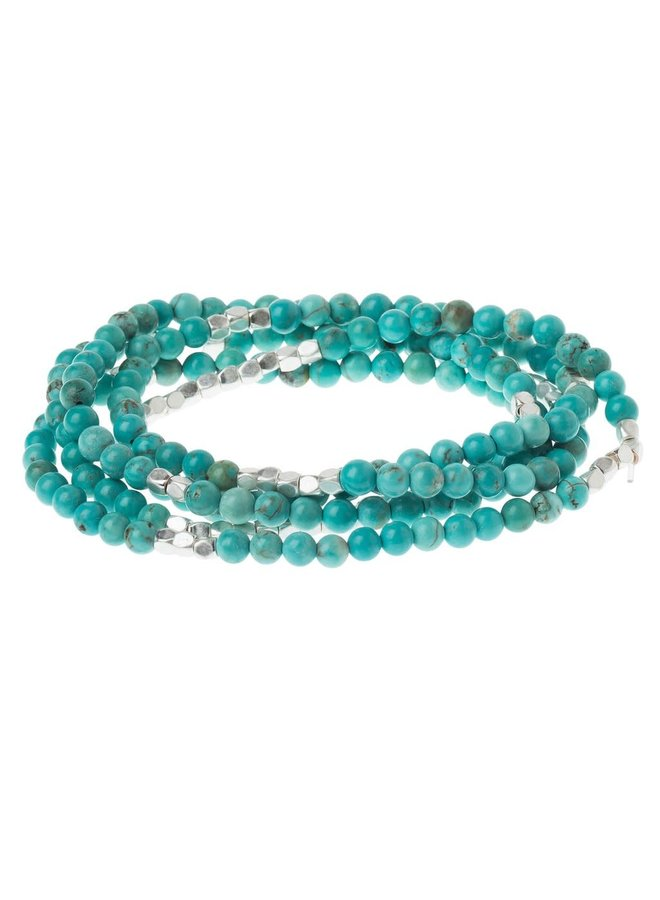 STONE OF THE SKY TURQUOISE/SILVER BRACELET/NECKLACE