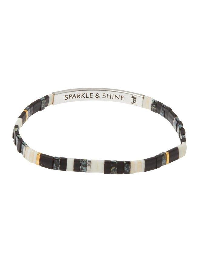 SPARKLE & SHINE RAVEN/SILVER