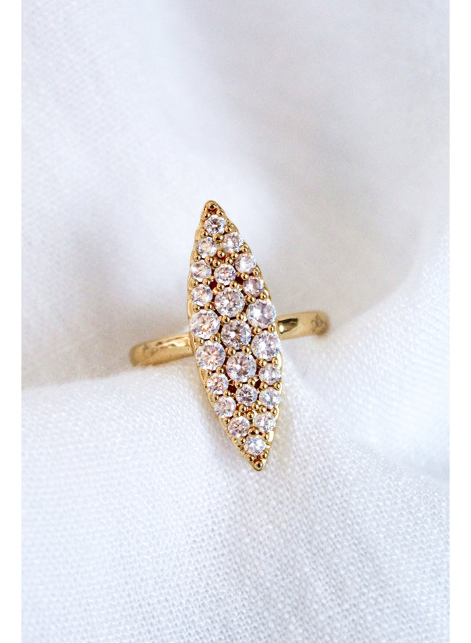 HER RING GOLD FILLED