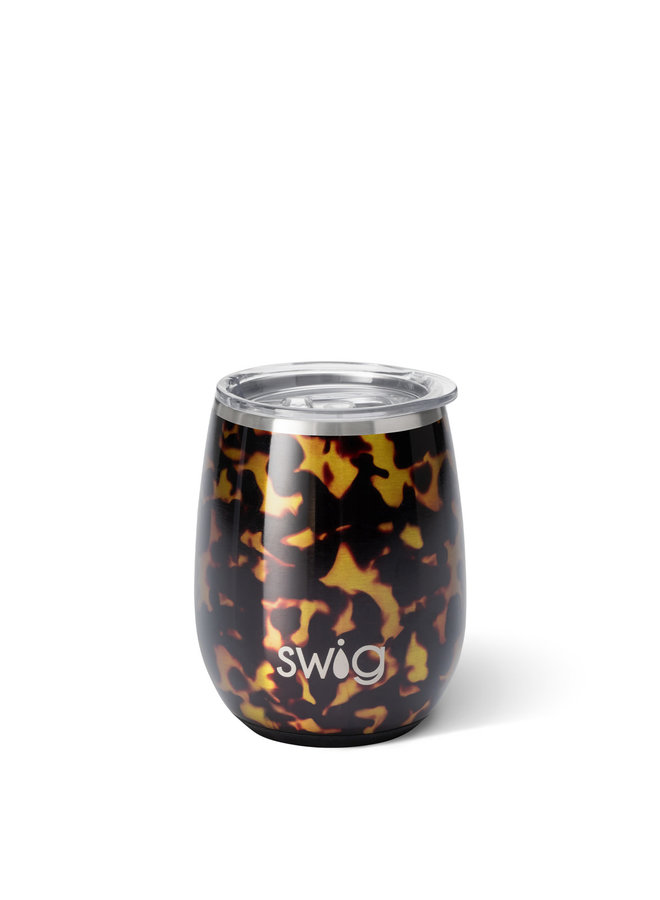 SWIG 14OZ STEMLESS WINE CUP BOMBSHELL