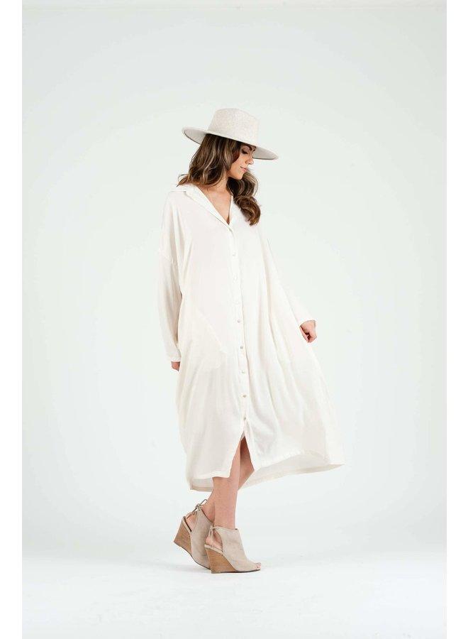 ZAHARA MAXI SHIRT DRESS