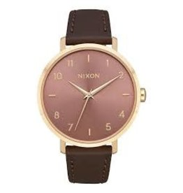 nixon Nixon - montre arrow leather