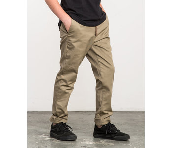RVCA - Pantalon junior  dayshift elastic