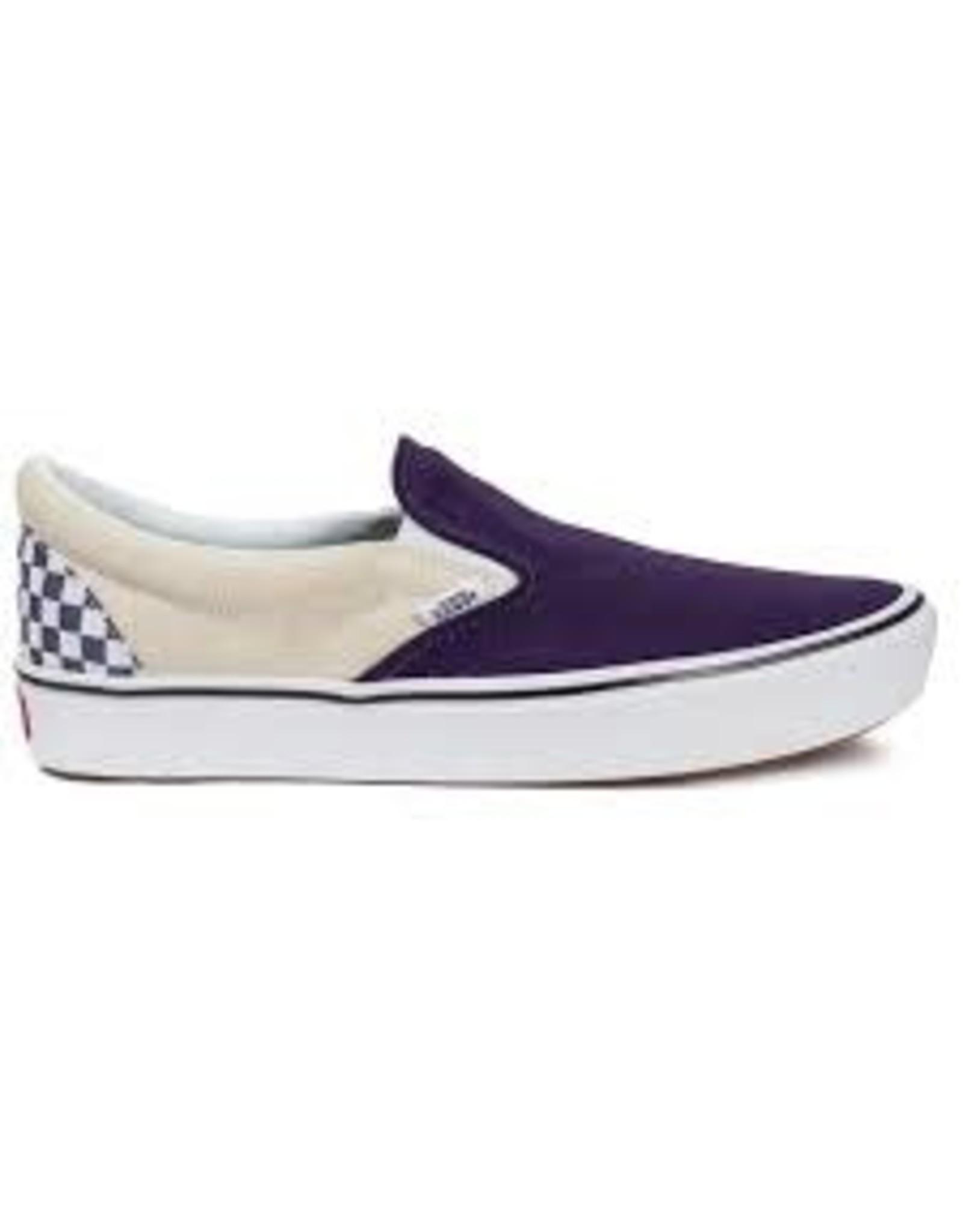 vans Vans - soulier comficush slip-on (checker)