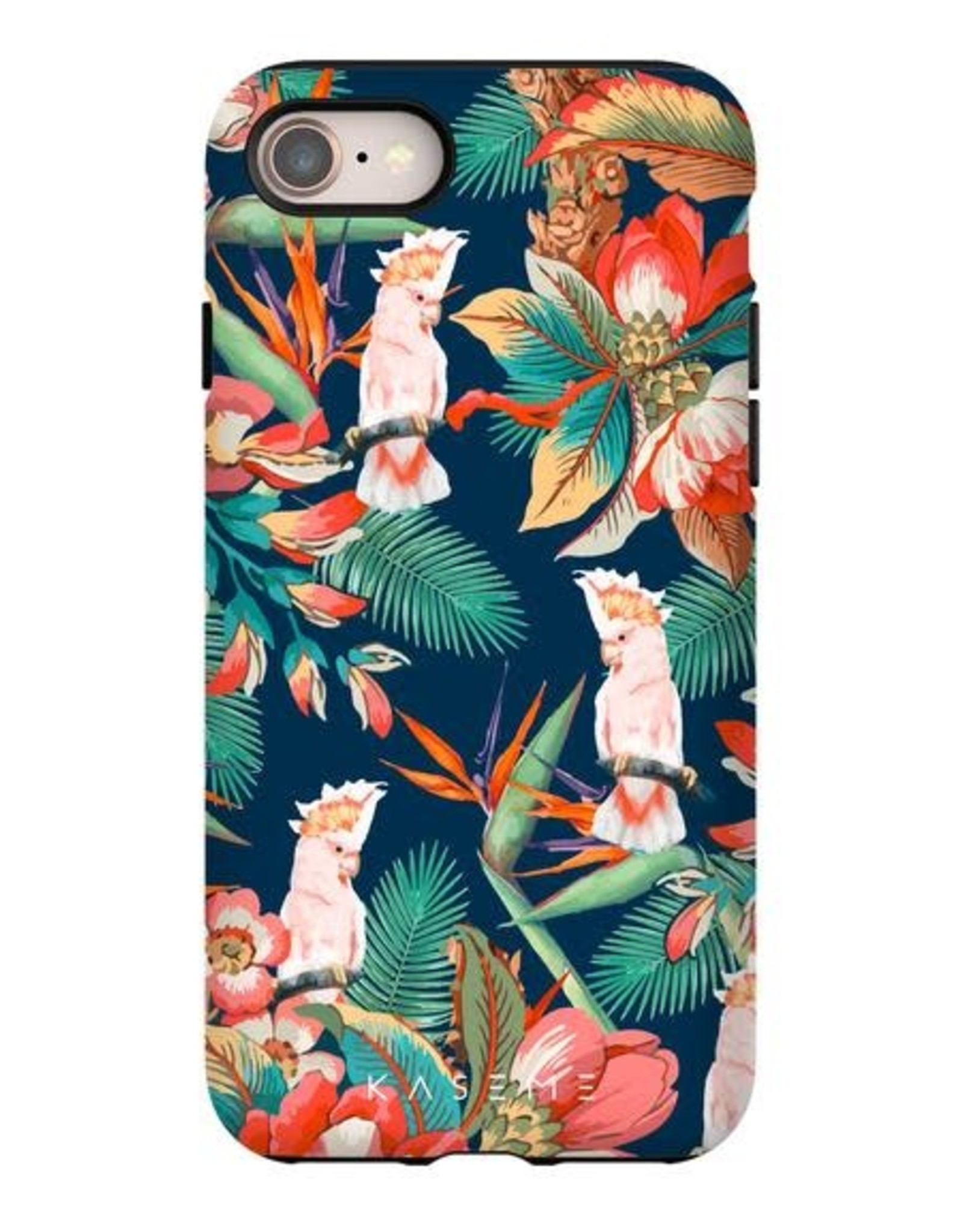 Kaseme Kaseme - etui cellulaire  iPhone cockatoo