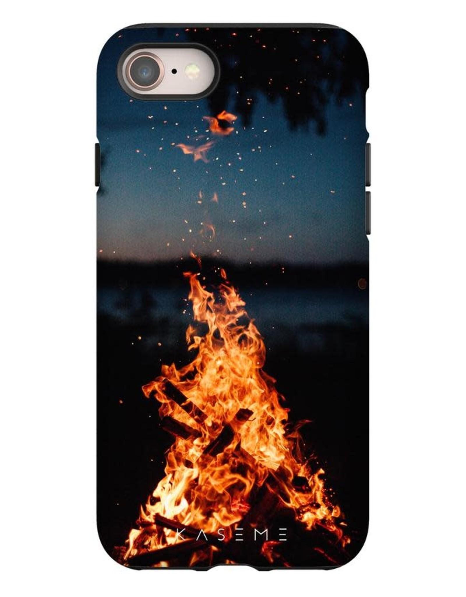 Kaseme Kaseme - étui cellulaire iPhone camp fire