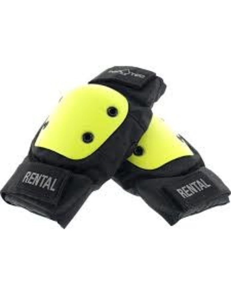 Protec Black//Yellow Rental Elbow Pad