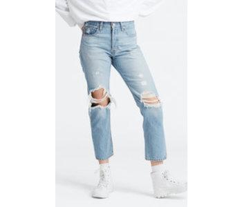 Levi's - Jeans femme  501 original crop