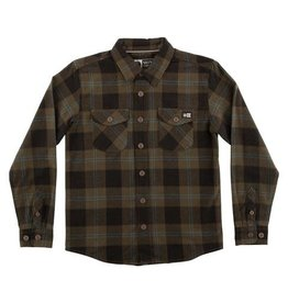 salty crew Salty crew - chemise inshore flannel L/S