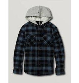 volcom Volcom - Chemise  junior shade stone hooded LS