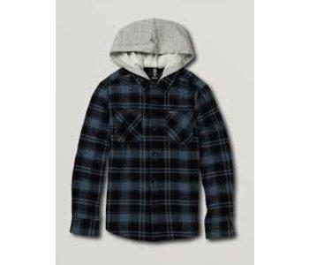 Volcom - Chemise  junior shade stone hooded LS
