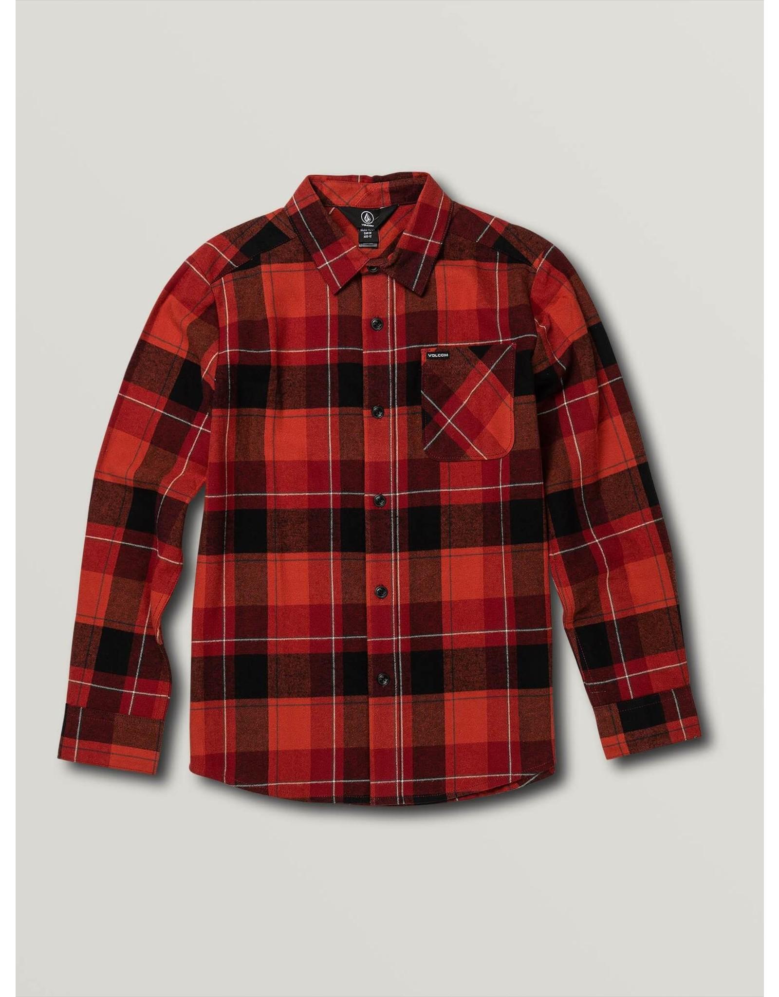 volcom Volcom - chemise caden plaid LS