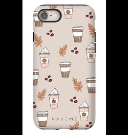 Kaseme Kaseme - étui cellulaire iPhone latte
