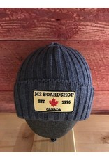 m2 boardshop M2 boardshop - tuque cotelé épais revers