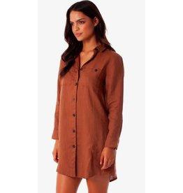 rhythm Rhythm - robe chemise marbella