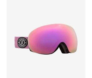 Electric - lunette snowboard EG3.5 tort mauve brose/pink chrome