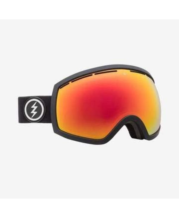 Electric - lunette snowboard EG2 matte black  brose/red chrome