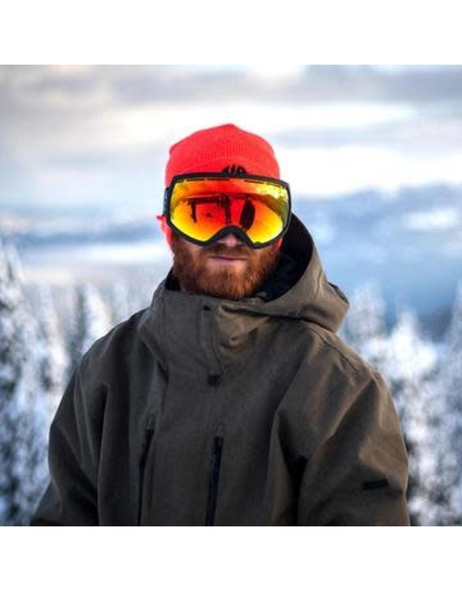 electric Electric - lunette snowboard EG2 matte black  brose/red chrome