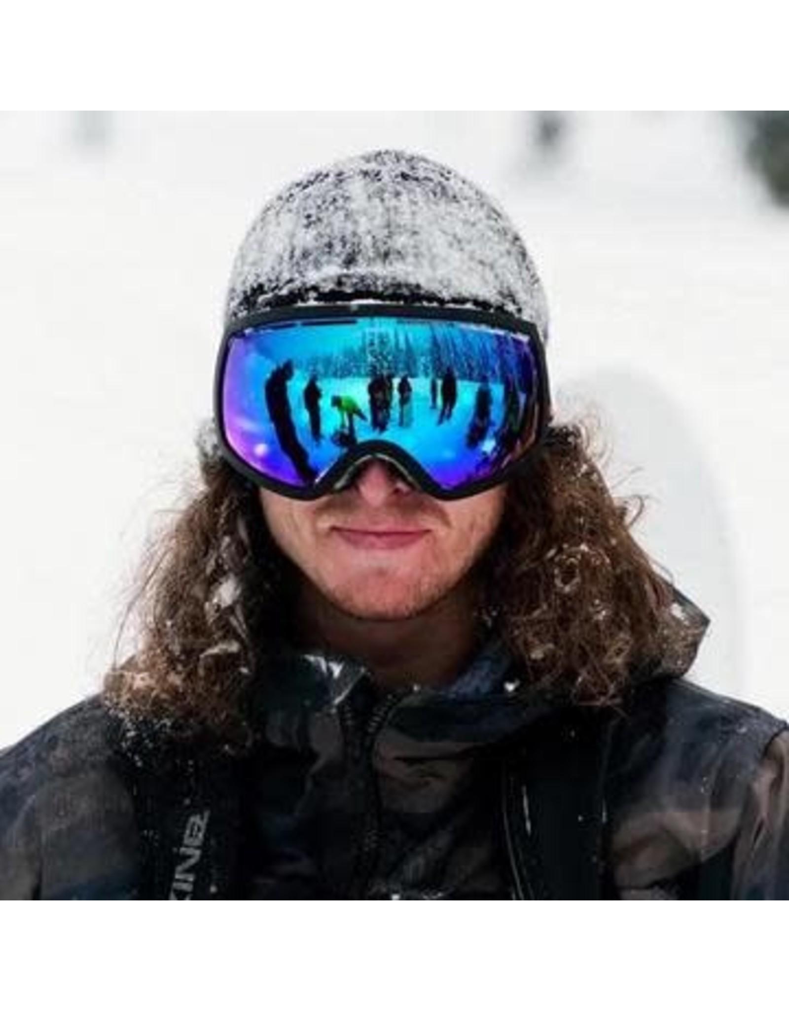 electric Electric - lunette snowboard EG2 matte black brose/bluechrome