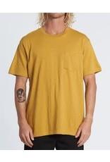 billabong Billabong - t-shirt mesa slub crew gold