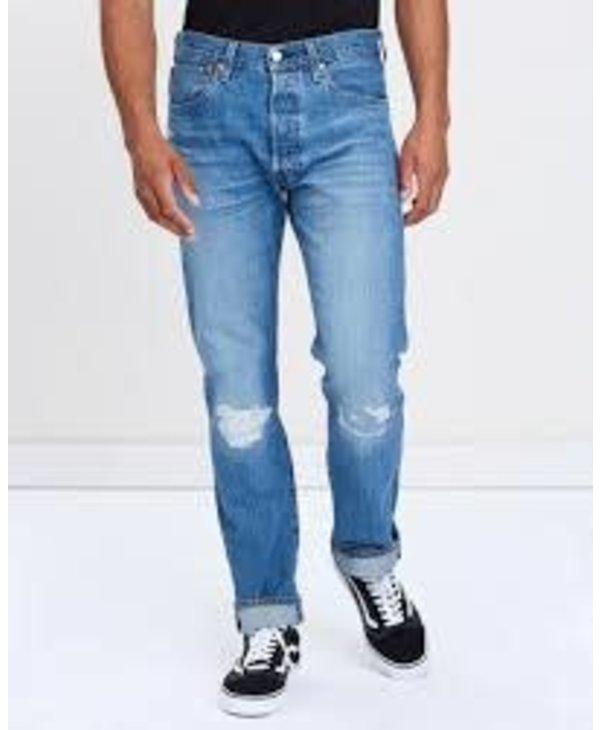 Levi's - Jeans  homme 501 original fit stretch